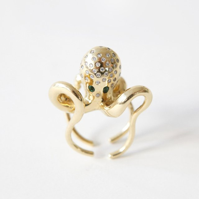 Octopus Ring by Rob Wynne
