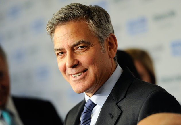 "George Clooney attends ""An Evening of SeriousFun Celebrating the Legacy of Paul Newman"", hosted by the SeriousFun Children's Network at Avery Fisher Hall on Monday, March 2, 2015, in New York. (Photo by Evan Agostini/Invision/AP)"