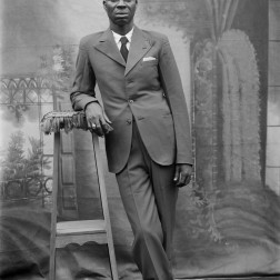 Chief Gaius Obaseki. (Chief Solomon Osagie Alonge, Ideal Photo Studio, Benin City, Nigeria)
