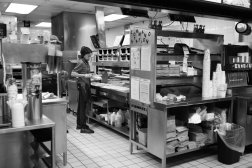 Tracy works during the night shift at a Burger King in mid-town Manhattan.