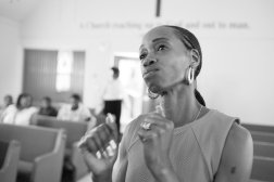 Tracy attends Mount Olive Baptist Church in Englewood, N.J.