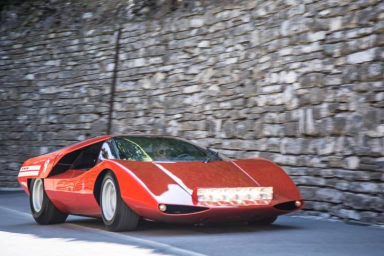 1969 Fiat Abarth 2000 Scorpione Coupe Pininfarina