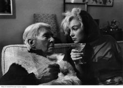 Epic!!Carl Sandburg and Marilyn Monroe by Arnold Newman