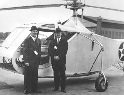 Igor Sikorsky and Orville Wright, 1942