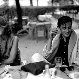 Jane Fonda and Alain Delon