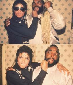 Michael Jackson & Mr. T