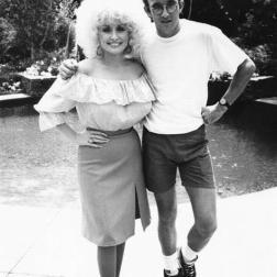 Dolly Parton and Keith Haring