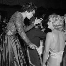 Eartha Kitt and Marilyn Monroe