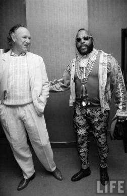 Gene THE MAN HAckman and MR T!