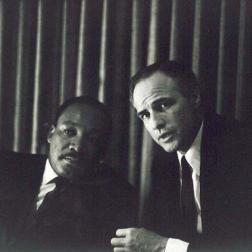 MLK and Brando