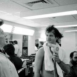 Ronnie Wood and Bill Murray by Ken Regan, 1978 —