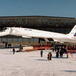 At the same time, engineers in the US and the Soviet Union were working on supersonic airliners of their own. The American Boeing 2707 never made it past the drawing board, while the Soviets' Tupolev TU144 made it into service, but was quickly retired due to performance and safety problems.