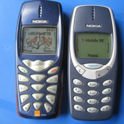 Owning a huge Nokia 3310..