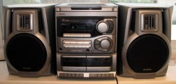 25. You owned a bulky hi-fi that was a real bugger to cart home at the end of every term.With a disc changer if you were fancy.