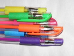 Doing all your work in scented gel pens/bubble writing. Apparently adults are not allowed to fill in tax forms in a yellow banana-scented gel pen. Who knew.