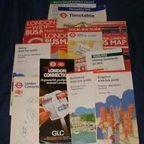 18. You had train and bus timetables pinned to your wall or stuffed in a drawer.