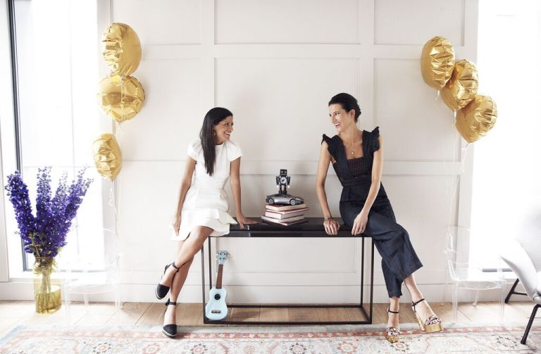 LISA PICARDO & ANNA BROMILOW, FOUNDERS OF LITTLECIRCLE