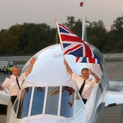 In 27 years of service, British Airways' fleet of Concordes made 50,000 flights and carried more than 2.5 million passengers.