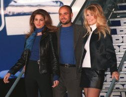 In the 1990s, the Concorde welcomed the world's biggest stars, such as supermodels Cindy Crawford and Claudia Schiffer, along with tennis star Andre Agassi.
