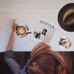 """Coffee & Kinfolk. Cuz my lyfe is beautiful"""