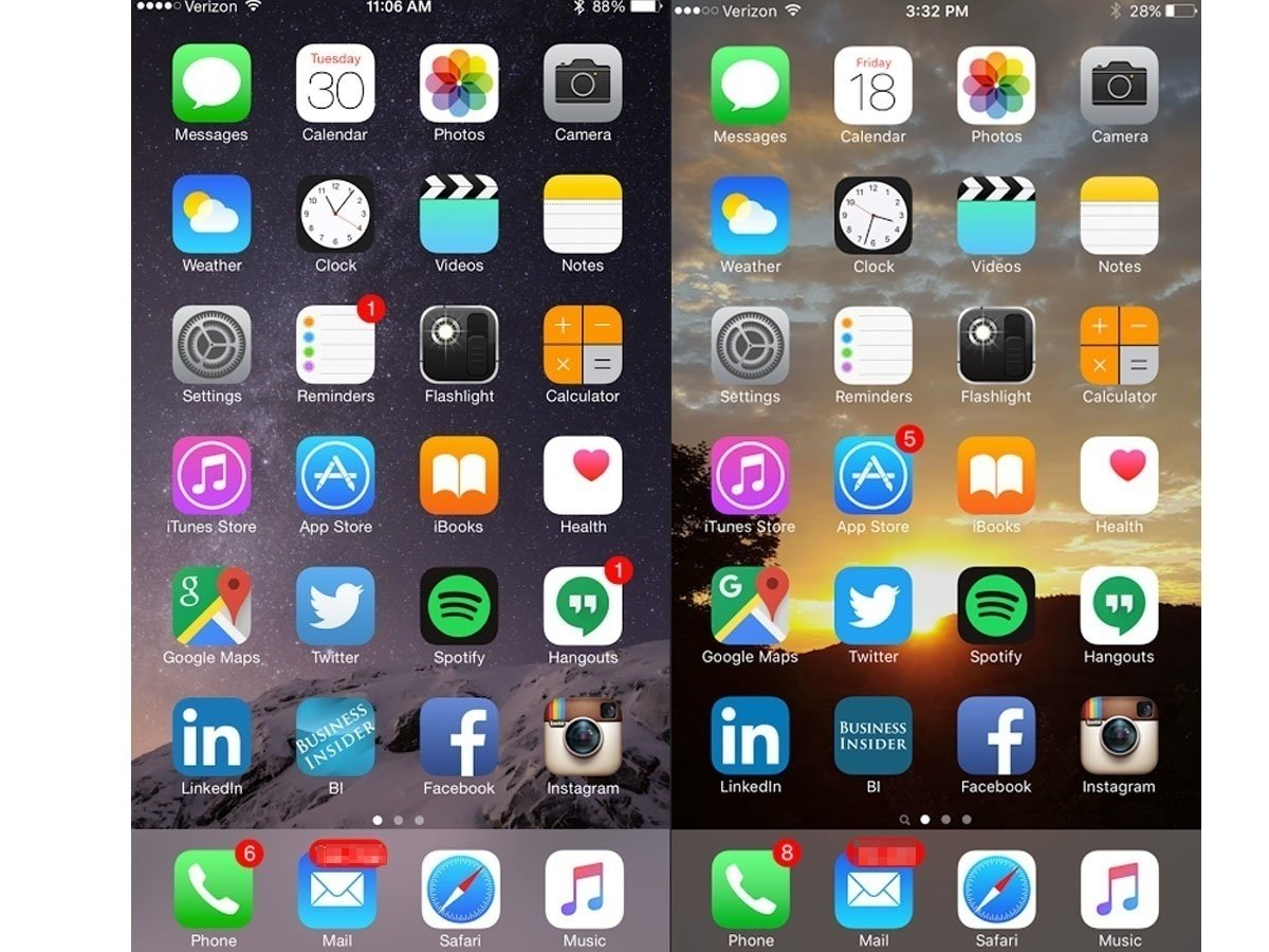 notice-anything-different-in-the-two-screenshots-below-other-than-the-background-didnt-think-so-the-look-and-feel-of-my-phone-didnt-really-change-at-all-when-i-upgraded-to-ios-9-but-its-the-little-things-that-made-the-difference-to-me