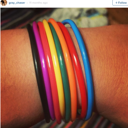 """Owning a number of """"shag bands"""". And always getting confused about what colour meant what. Trying to immediately advertise how many lacklustre handjobs you've given is just kind of lame as an adult."""