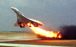 That all changed on July 25, 2000, when an Air France Concorde burst into flames and crashed shortly after taking off. The plane caught fire after a blown tire ruptured the Concorde's fuel tanks, and 113 people died in the crash.
