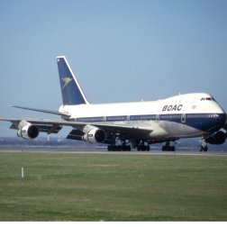 That was a major improvement over the seven hours it took for a conventional jumbo jet to make the crossing.