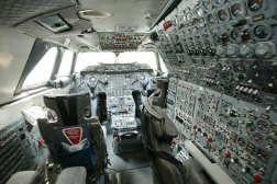 The Concorde was operated by a crew of the three: two pilots and a flight engineer.