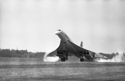 Together, Aérospatiale — a predecessor of Airbus Industries — and British Aircraft Corporation agreed to produce a four-engine, delta-wing supersonic airliner.