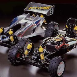 The Manta Ray was kit number 87 from Tamiya. A 1/10 4WD off-road buggy, it was designed to appeal to beginners and experts alike.