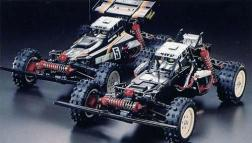 The HotShot II was kit number 62 from Tamiya. A 1/10 4WD off-road racer, it was a follow up to the successful original Hot Shot