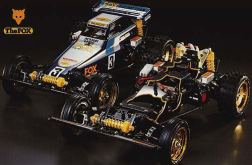 The Fox was kit number 51 from Tamiya. A 1/10 scale 2WD off-road car, it was designed as a true off-road race car and for its time, it found a large enthusiastic audience.