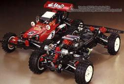 The HotShot was kit number 47 from Tamiya. A 1/10 4WD off-road racer, it was the first true 4WD off-road racer from Tamiya.