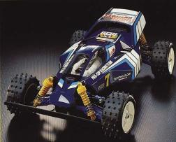 The Terra Scorcher was kit number 75 from Tamiya. Based on the Thundershot chassis, the car included some much needed improvements.