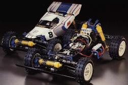 The Boomerang was kit number 55 from Tamiya. An off-road 4WD car, it was designed as an entry-level - yet competitive - buggy.