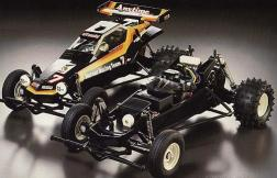 The Hornet was kit number 45 from Tamiya. A 1/10 scale off-road vehicle, the car was designed for the beginner.