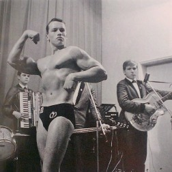 The year was 1963, and it was Arnold Schwarzenegger's first bodybuilding competition. He was 16 at the time.