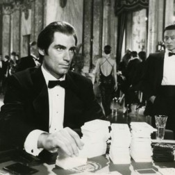 But it did not help that Dalton seemed to take it all so very seriously. Although there are some undeniably spectacular scenes in 1987's The Living Daylights and 1989's Licence to Kill, and - in fairness to him - I'd pick either (even, I think, the hugely flawed second one) over any of Brosnan's efforts, the Welshman himself still looks the more miscast. Picture: REX FEATURES