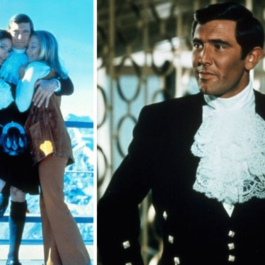 """6. George Lazenby The Australian has always been something of a paradox. On one hand, his sole adventure as James Bond – 1969's On Her Majesty's Secret Service – remains one of the most thrilling of the entire franchise. But this is due to the suitably crazy crop-wrecking plot, director Peter Hunt's gorgeously shot ski chases, and Bond girl Diana Rigg's cheekbones. Lazenby himself filled out a dress shirt well, had a certain athleticism about him, and handled that famous final scene with surprising tenderness. Beyond that, though, the former star of the """"Big Fry"""" chocolate adverts felt like an awful-sounding temporary stand-in for the real thing. Picture: REX FEATURES"""