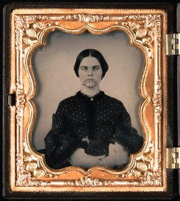 1857 Olive Oatman IMAGE: BEINECKE RARE BOOK AND MANUSCRIPT LIBRARY